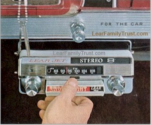 8 Track Tape Cartridges Introduced In 1964