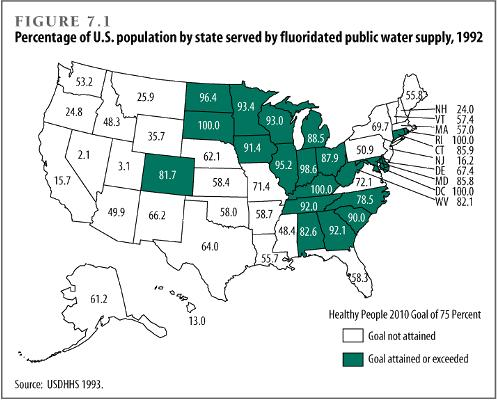 Fluoride In Water World Map